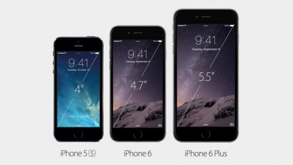 Larger iPhone 6 and 6 plus