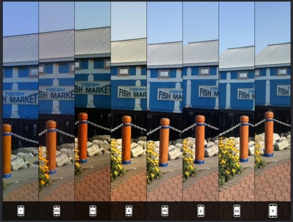 Lisa Bettany iPhone Camera Comparison