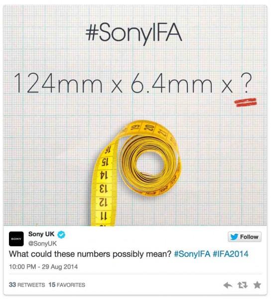 Sony IFA2014 Teaser 1