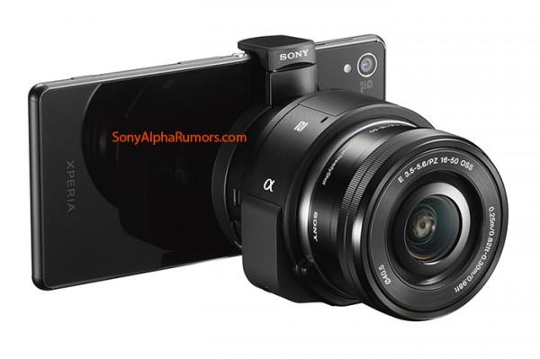 Sony QX1 Lens with Xperia Z3