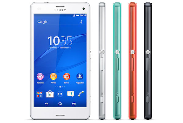 Sony Xperia Z3 Compact Side