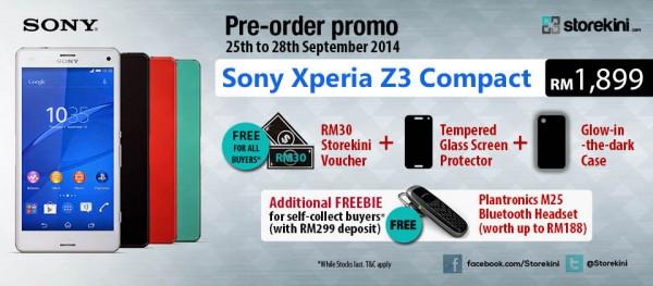 Sony Xperia Z3C SB