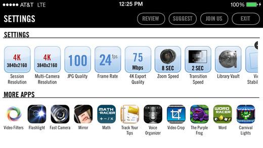 Vizzywig 4K settings