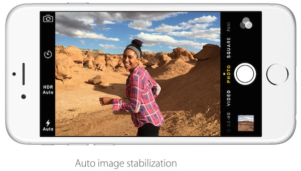 iPhone 6 Auto Image Stabilization