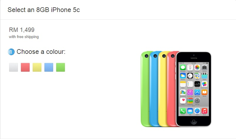 iphone 5c price new