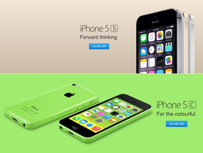 iphone 5s price apple malaysia drops prices of iphone 5s and 5c now from 1037