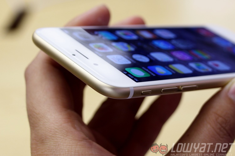 Iphone 6 Gold 12
