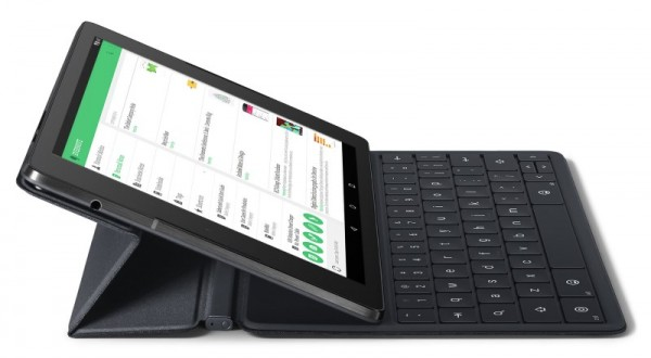Google Nexus 9 with Keyboard Folio