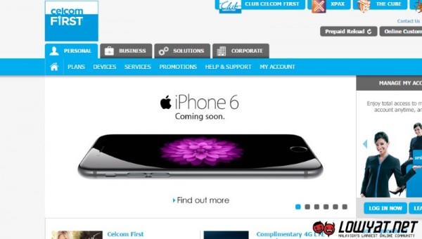 iPhone 6 Celcom