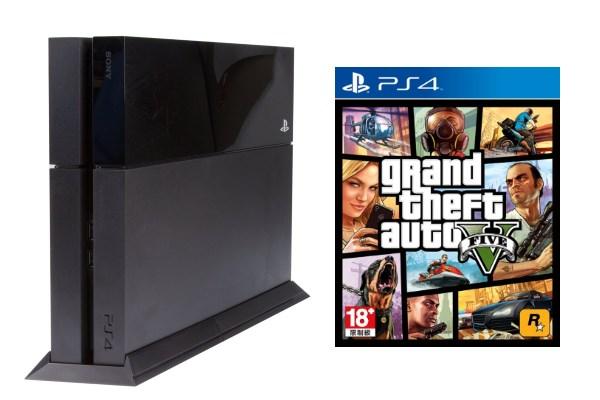 PlayStation 4 - Grand Theft Auto V