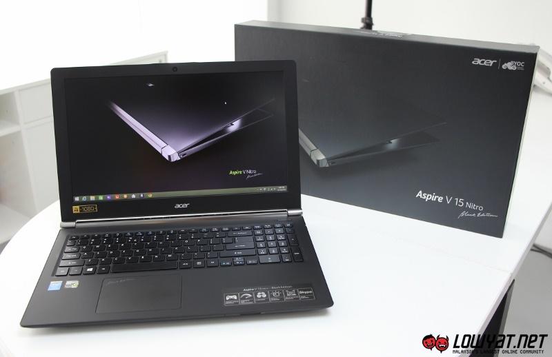 Acer Aspire V15 Nitro Black Edition Hands On 01