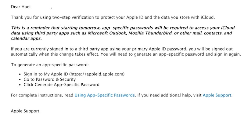 Apple S Two Step Verification For Icloud Will Start Using