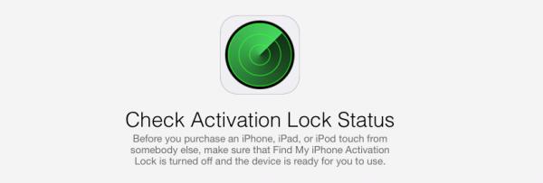 Apple Check Activation Lock Status Online