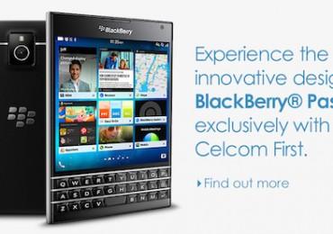 Celcom BlackBerry Passport