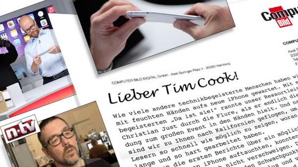 Computer Bild Letter to Tim Cook