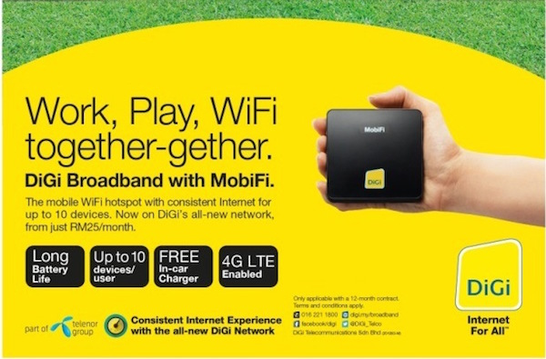DiGi Introduces New MobiFi Wireless Router Along with Refreshed