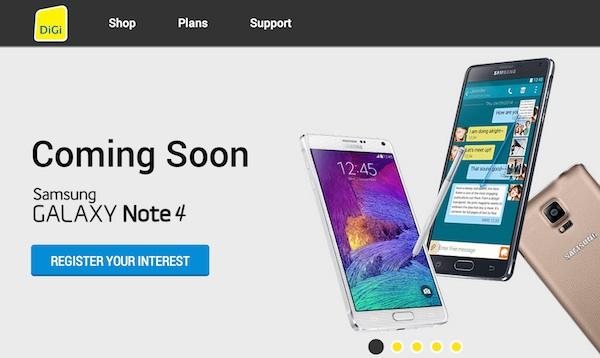 DiGi Samsung Galaxy Note 4 ROI