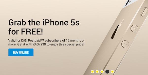 DiGi iPhone 5s Free
