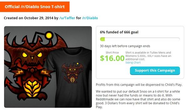 Diablo Snoo Tshirt