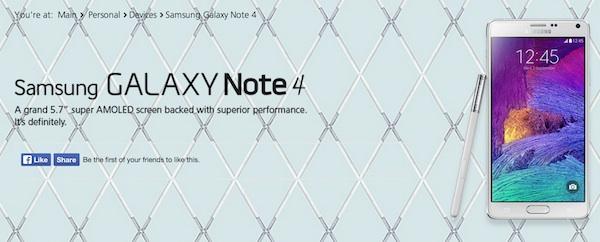 Maxis Samsung Galaxy Note 4 ROI