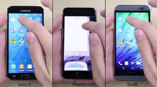 PhoneBuff iPhone 6 vs Galaxy S5 vs HTC One M8