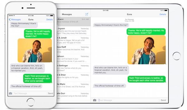 SMS on Mac