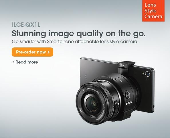 Sony ILCE-QX1 Preorder