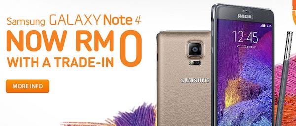 U Mobile Samsung Galaxy Note 4