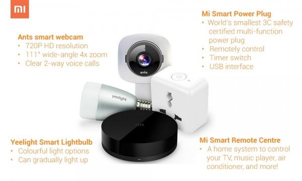 Xiaomi Smart Home Gadgets