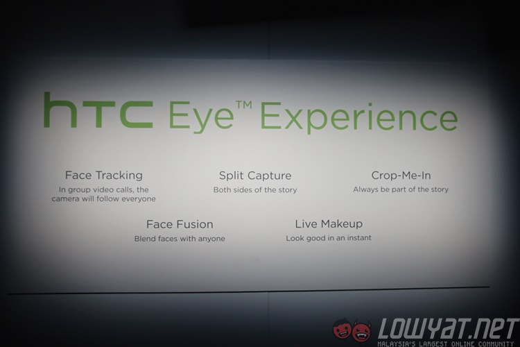 HTC Introduces The New Eye Experience Camera Features