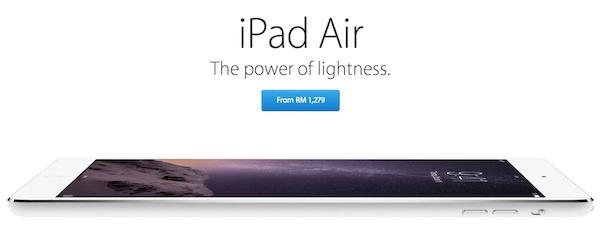 iPad Air RM1279