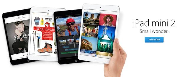 iPad mini 2 RM929