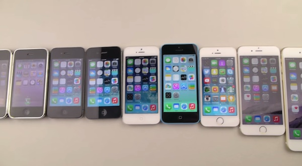 All Iphone Generations