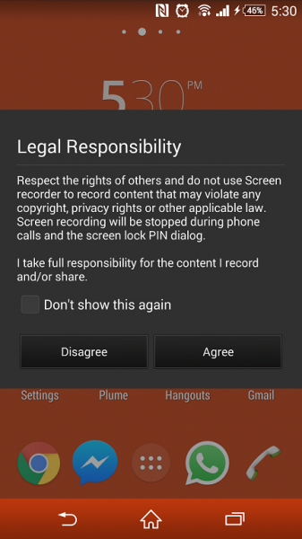sony-xperia-z3-screen-record-warning