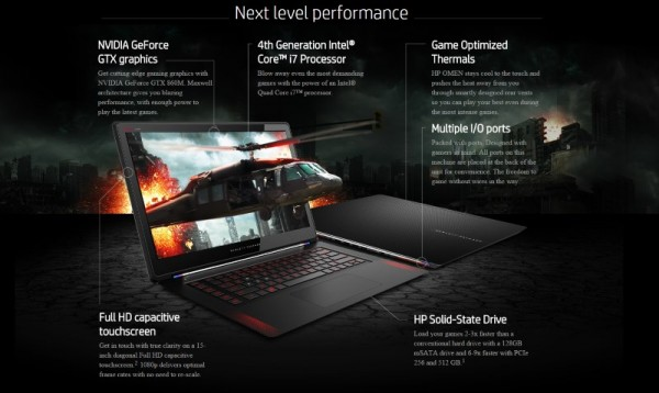 HP Omen Gaming Notebook at HP Malaysia Online Store