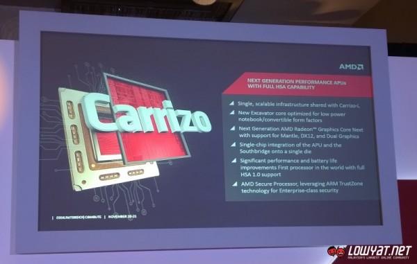 AMD Carrizo APU