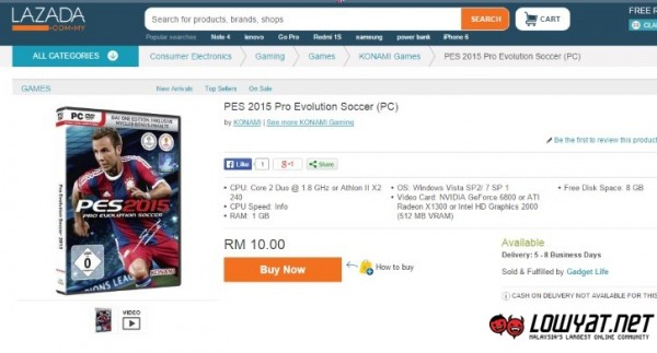 Questionable Listing At Lazada Malaysia
