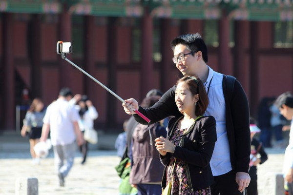 Selfie Stick at South Korea