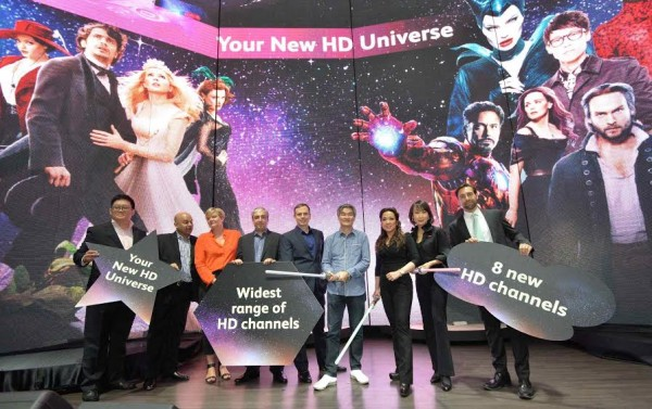Astro New HD Channels