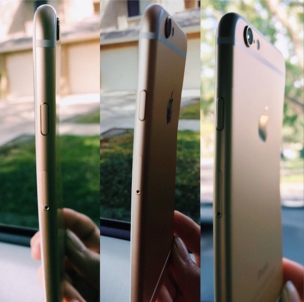 Bent iPhone 6 Various Angles