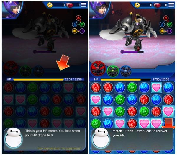 Big Hero 6 Bot Fight HP Meter