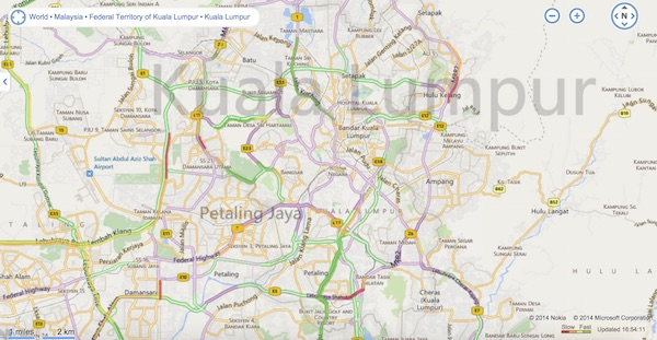 Bing Maps with Clearflow