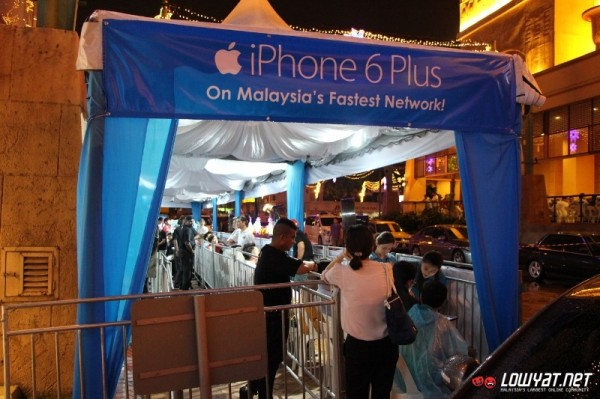 Celcom iPhone 6 and iPhone 6 Plus Midnight Launch 02