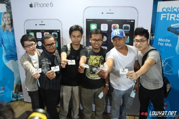 Celcom iPhone 6 and iPhone 6 Plus Midnight Launch 08