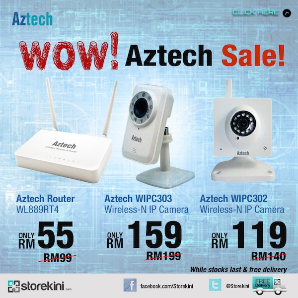 FB Aztech Sale