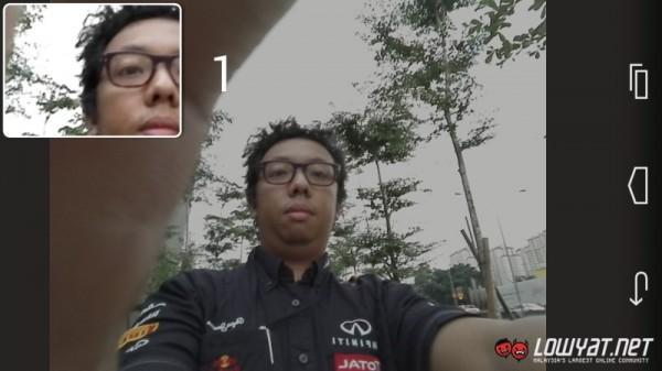 Huawei Honor 6 Selfie Window