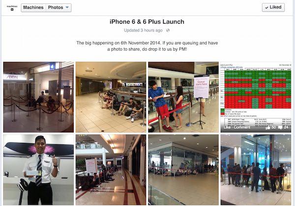 Machines iPhone 6 Launch