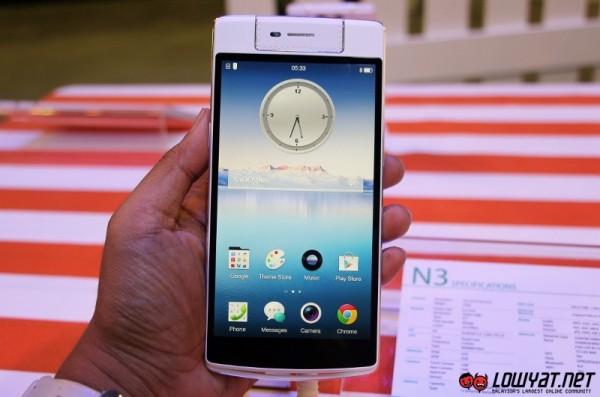 Oppo N3 Hands On 05