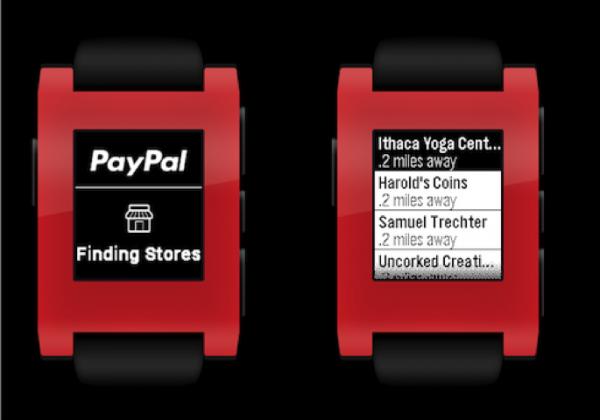 Pebble PayPal