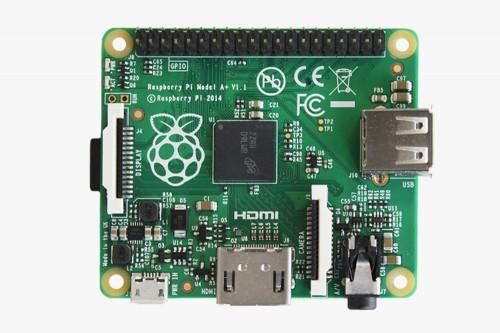 Raspberry Pi A+ Overhead